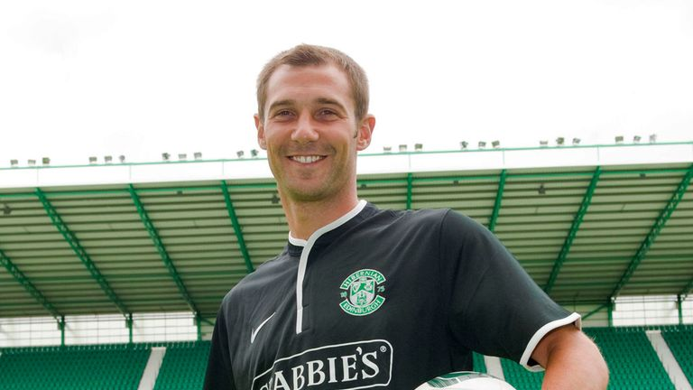 Kevin Thomson: Happy to be at Hibernian