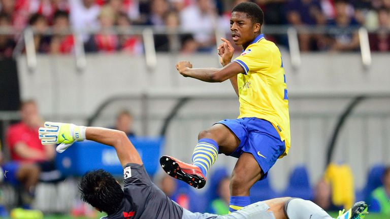 Chuba Akpom: Netted the winner for Arsenal against Urawa Red Diamonds in Japan