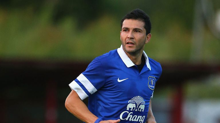 Antolin Alcaraz: Impressed Everton boss Roberto Martinez