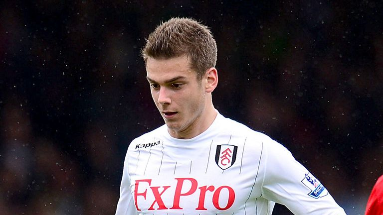 Alex Kacaniklic: Looking forward to Fulham's clash with Chelsea