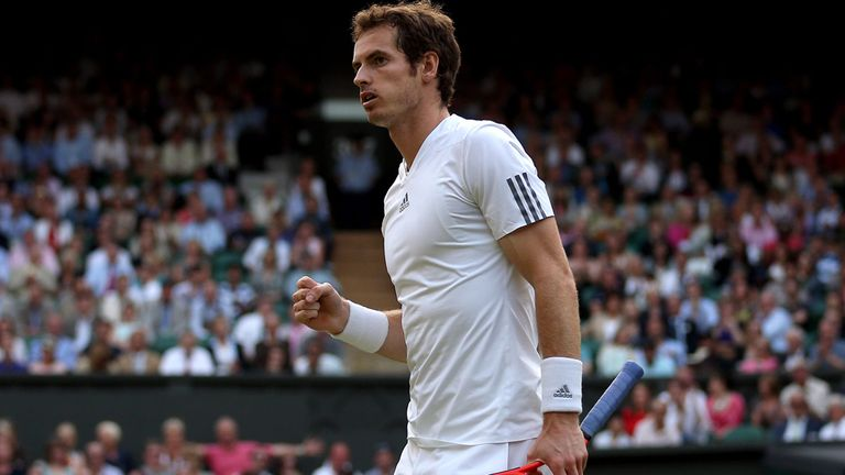 Andy Murray: Backed for glory by Tim Henman