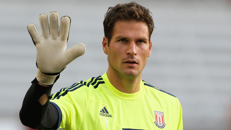 Asmir Begovic: Staying at Stoke after no offers were received