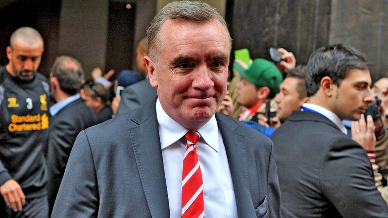 Ian Ayre: Delighted with support in Australia