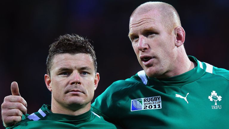 Paul O'Connell: Reunited with Brian O'Driscoll in Ireland side