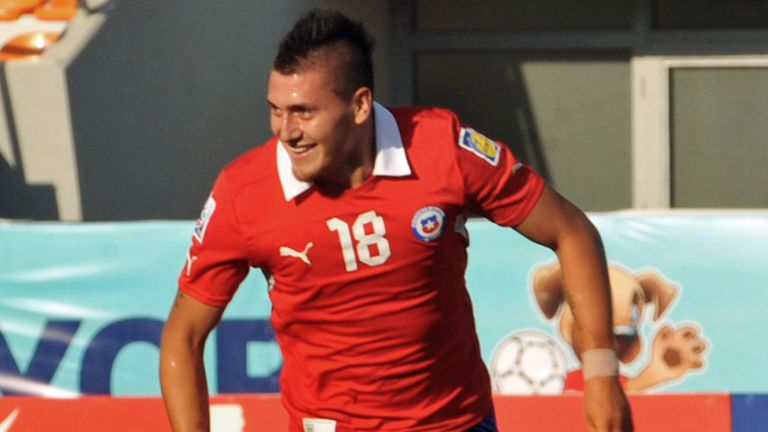 Nicolas Castillo: Hit four goals at U20 World Cup