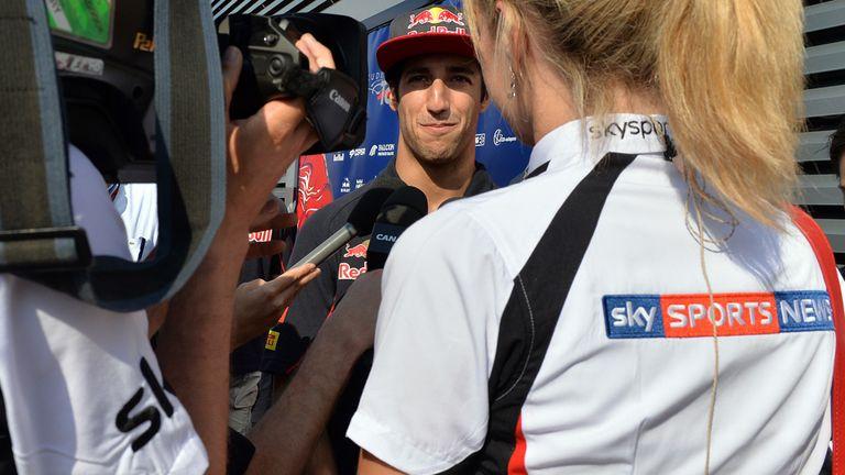 Ricciardo: Focused on Toro Rosso