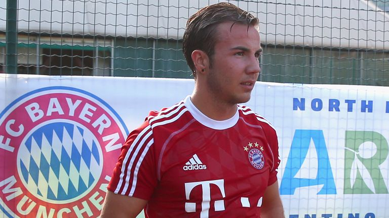 Mario Gotze: Called up into Germany squad