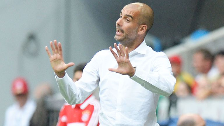 Pep Guardiola: Bayern Munich boss watched his team beat former club Barcelona
