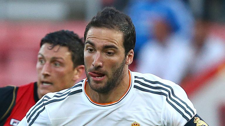 Gonzalo Higuain: On brink of move to Napoli