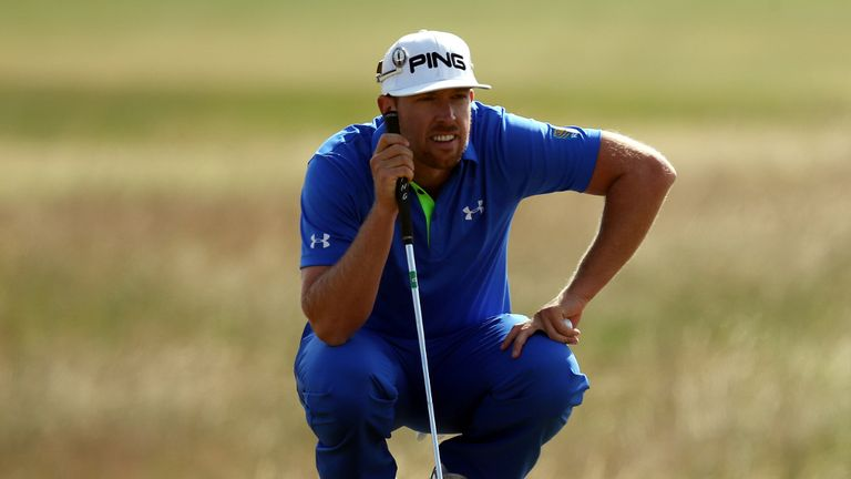 Hunter Mahan: Will play alongside Lee Westwood in the final group