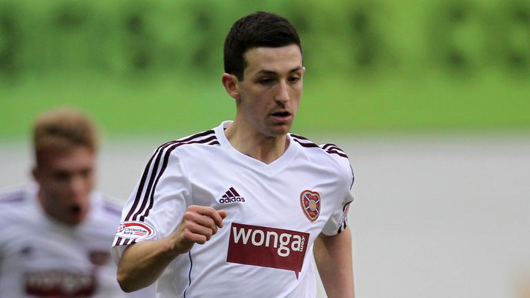 Jason Holt: Move to England would interest Hearts midfielder