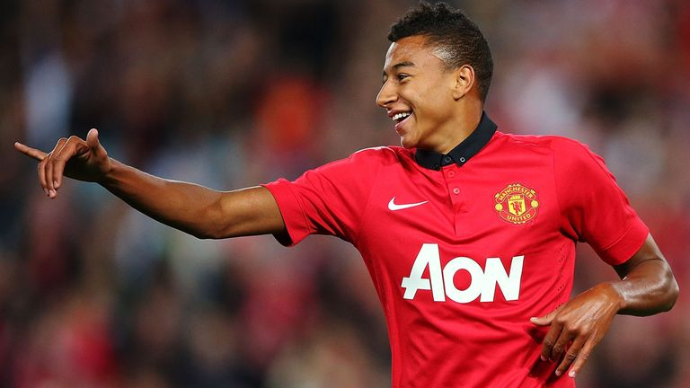 Jesse Lingard: Aiming to follow in Danny Welbeck and Tom Cleverley's footsteps
