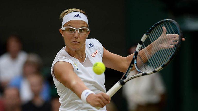 Kirsten Flipkens: Brushed her opponent aside in just an hour