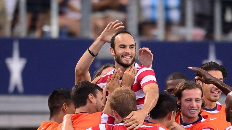 Landon Donovan: Helped USA reach final