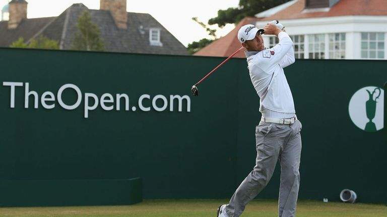 Lloyd Saltman: First two drives out of bounds at Muirfield