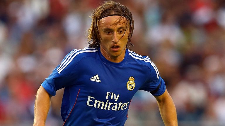 Luka Modric: Says he hopes to see out his career at Real Madrid