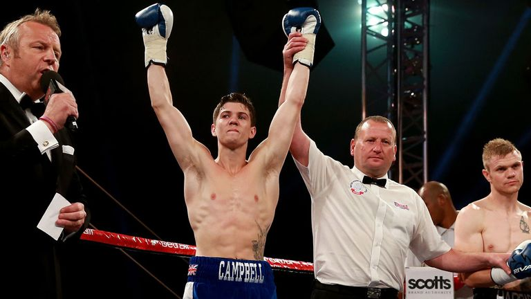 Luke Campbell: Proved far too good for Andy Harris
