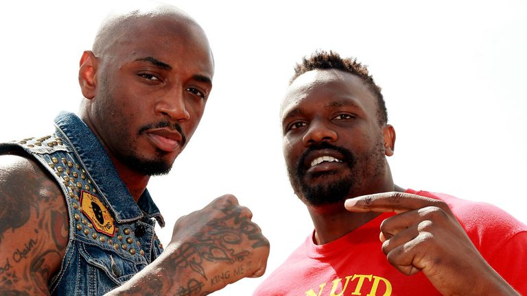 Dereck Chisora (r) faces crucial fight against Malik Scott this weekend