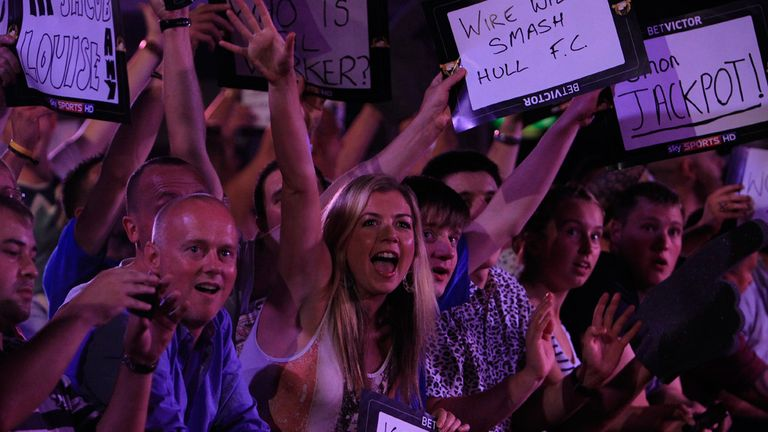 Darts fans: have never had it so good, says Rod