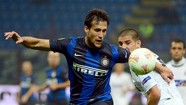 Matias Silvestre: Failed to make much impact in his year at Inter Milan.