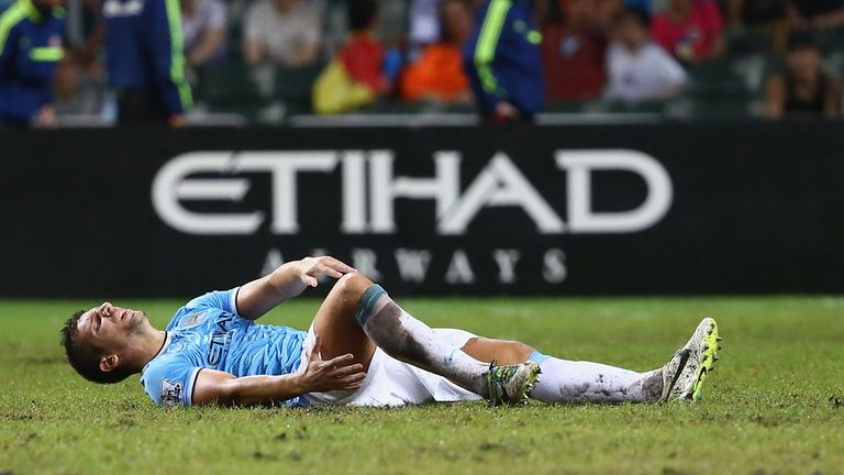 Matija Nastasic: Sustained his injury in an innocuous-looking incident involving Emanuele Giaccherini