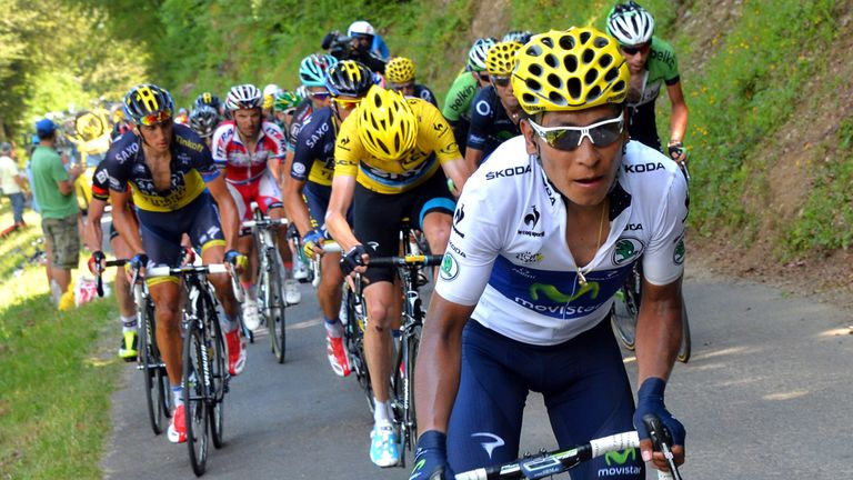 Nairo Quintana was king of the mountains in 2013
