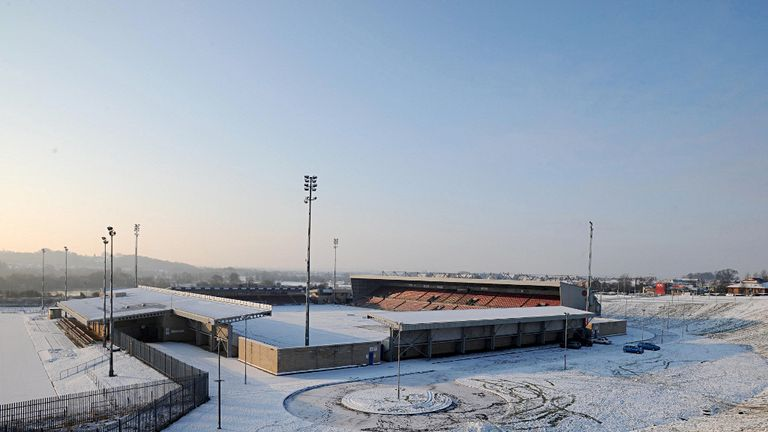 Sixfields Stadium: Will host Coventry this season