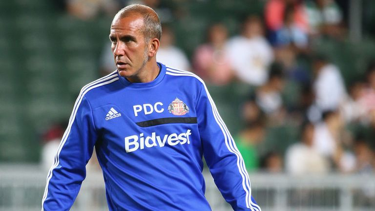 Paolo Di Canio: Pleased with progress being made by Sunderland