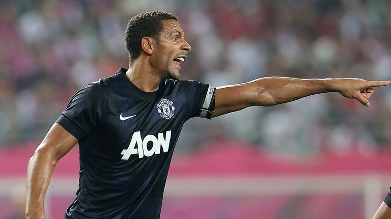 Rio Ferdinand: Ready to fight for his place at Manchester United