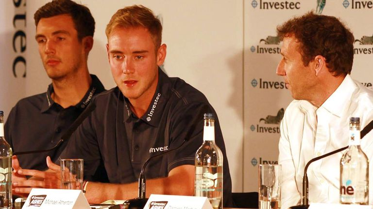 Stuart Broad: We'll concentrate on our strengths