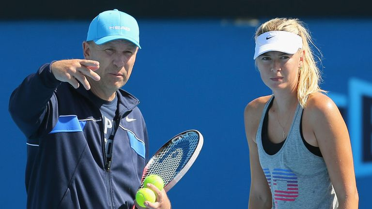 No more working with Maria Sharapova for Swede Thomas Hogstedt