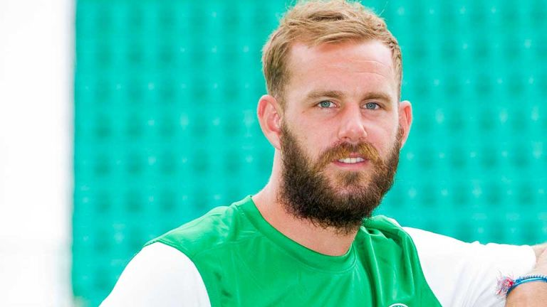 Rowan Vine: Recently made the switch from St Johnstone to Hibernian