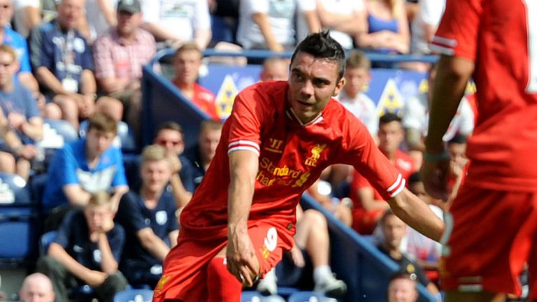 Iago Aspas: New Liverpool signing finds the net at Preston