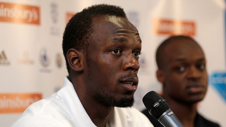 Usain Bolt: Speaking in London ahead of the Anniversary Games