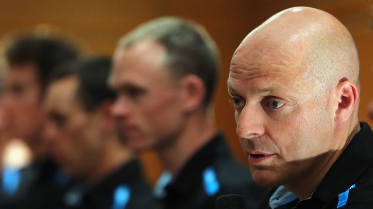 Sir Dave Brailsford admitted stage nine was a learning experience for Team Sky