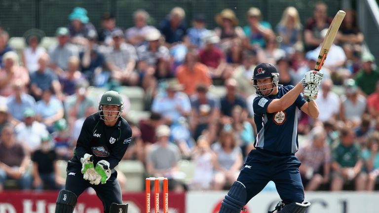 Cameron White: Steered the Steelbacks over the line in Cardiff