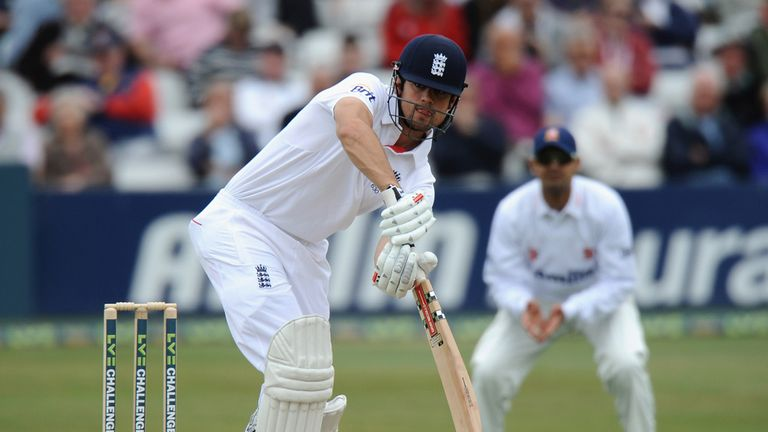 Alastair Cook will lead England into an Ashes series for the first time