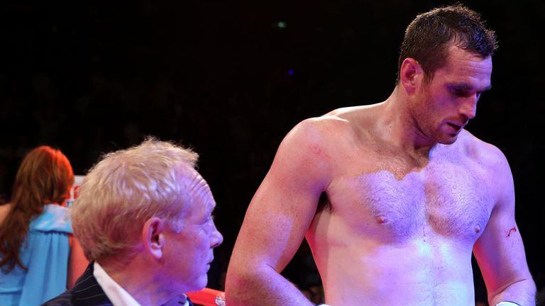 Beaten man: a bemused David Price tries to deal with another defeat to Tony Thompson
