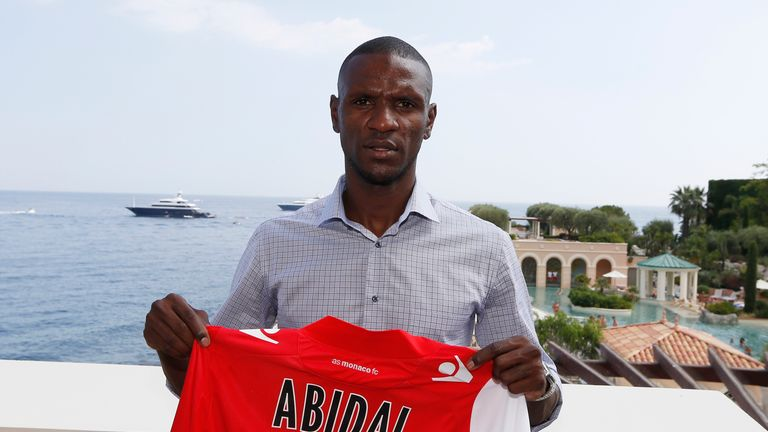 Eric Abidal: Has re-joined Monaco, the club where he started his professional career