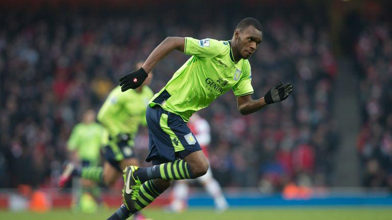 Christian Benteke: Aston Villa striker back training at Bodymoor Heath