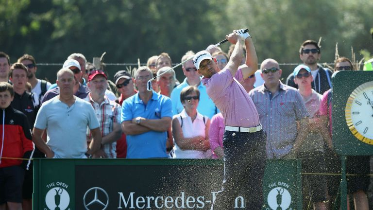 Sergio Garcia: Spirits lifted by a 68 on Saturday