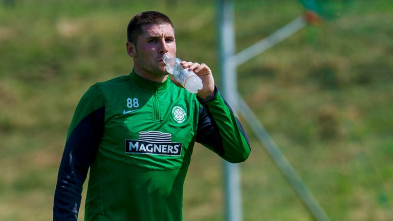 Gary Hooper: In squad for Cliftonville qualifier