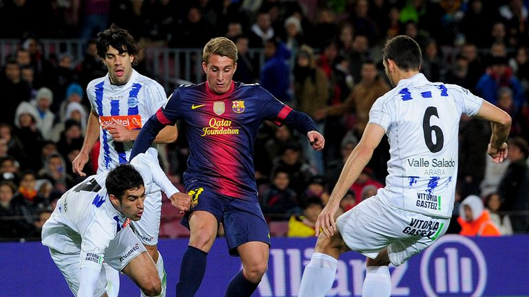 Gerard Deulofeu: Barcelona youngster has joined Everton on loan for the season