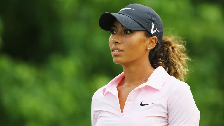 Cheyenne Woods: Hoping to be at St Andrews