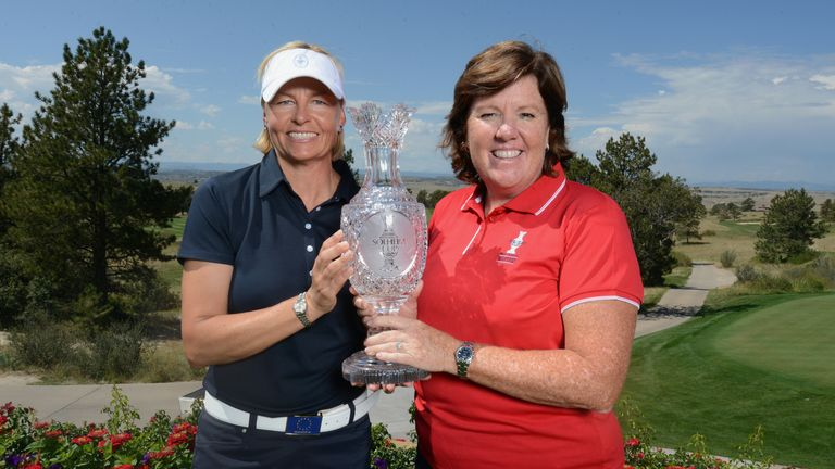 Captains: Will Meg Mallon or Europe's Liselotte Neumann take home the trophy?