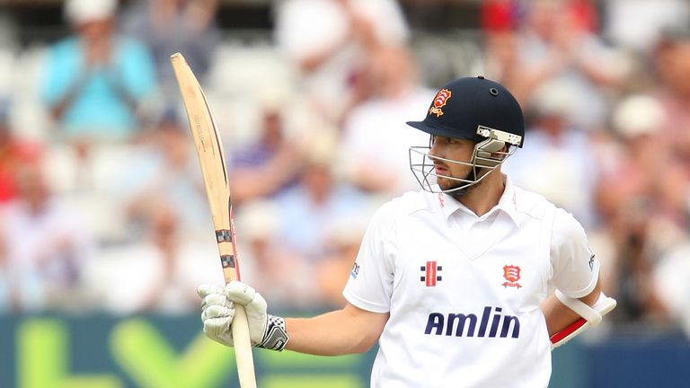 Jaik Mickleburgh: Made an unbeaten 68 on day two for Essex