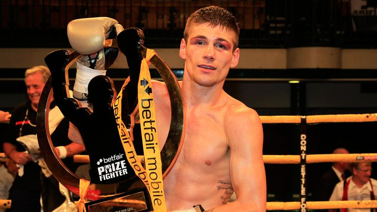 Chris Jenkins: Took the Prizefighter title last summer