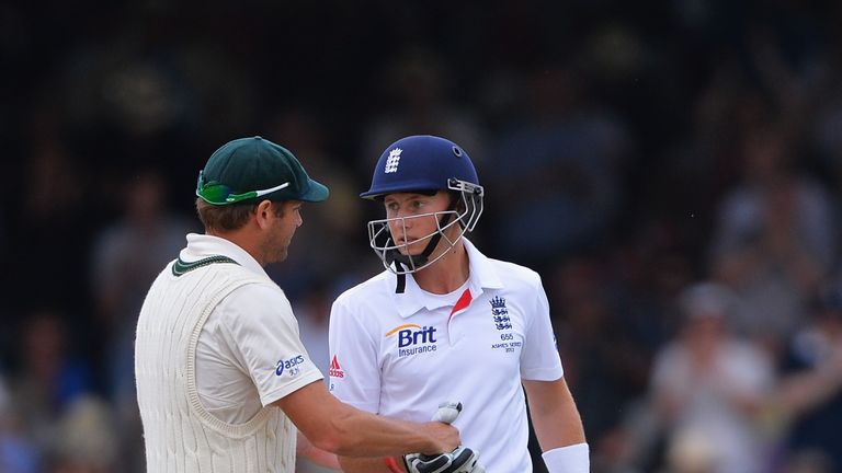 Joe Root took centre stage with an unbeaten 178 on day three at Lord's