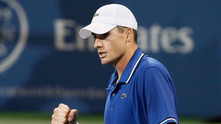 John Isner: Overcame Christian Harrison at the Atlanta Open