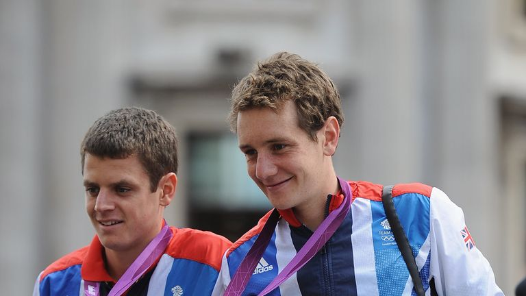 Brownlee brothers are delighted more and more people are taking up the triathlon